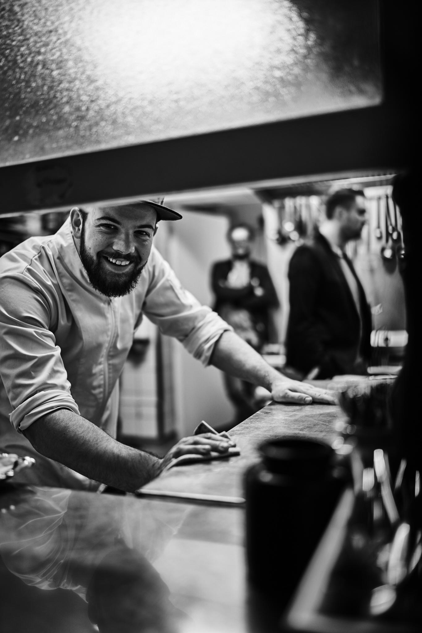 Florian Berger, der sympathische Spitzenkoch des Restaurants Gabelspiel